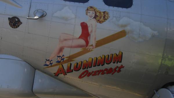 B-17 at Napa Airport