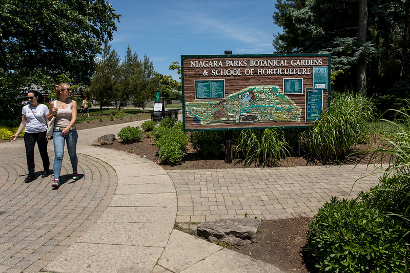 Outside The Niagara Parks Butterfly Conservatory