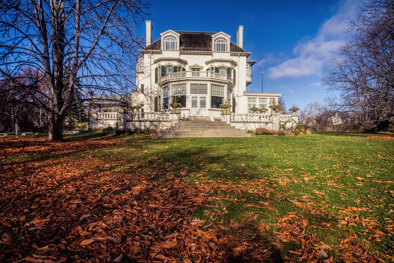 Spadina House - The Backyard