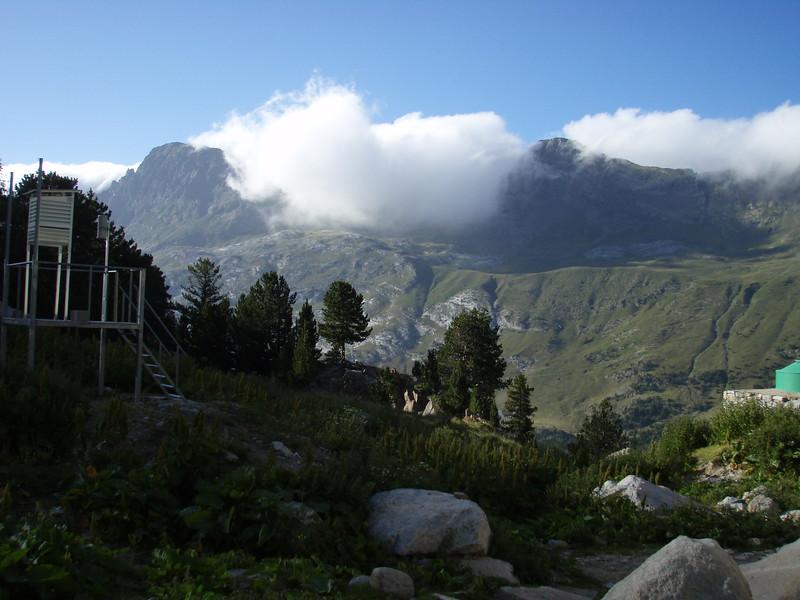 Pico de la Mina from Refugio de la Renclusa