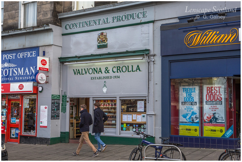Valvona & Crolla Italian delicatessen, Elm Row