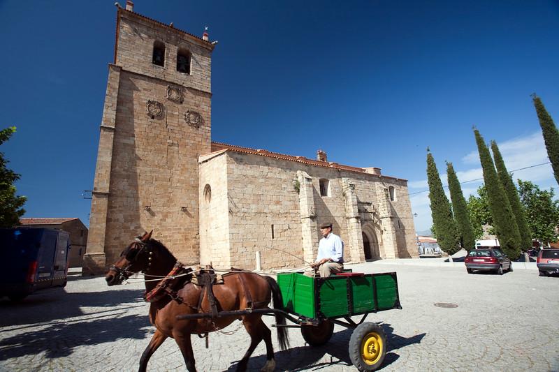 San Pedro church, Garrovillas de Alconetar, Caceres, Spain