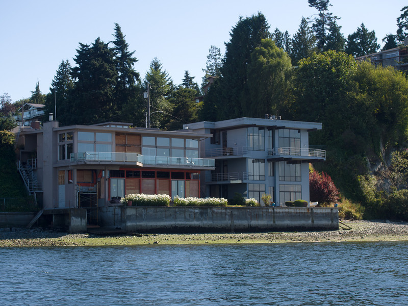 Nice house on the water - not sure if it is one home or several...