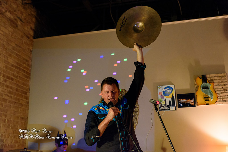 05-20-2016 - Abe Partridge & The Psychedelic Peacocks - CD Release Party - The Listening Room #99