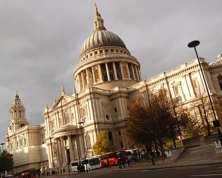 St. Paul's - Slanted