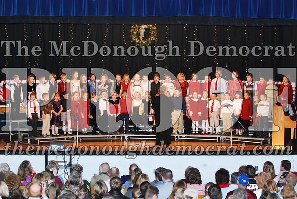1st Grade Xmas Program 12-17-07