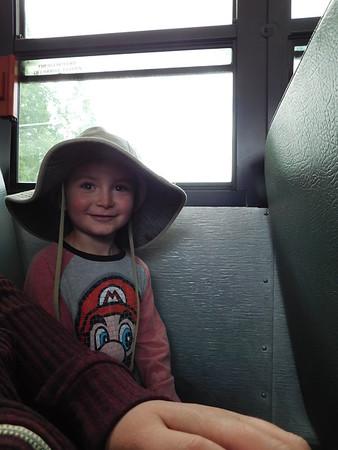 Elijah's First Field Trip
