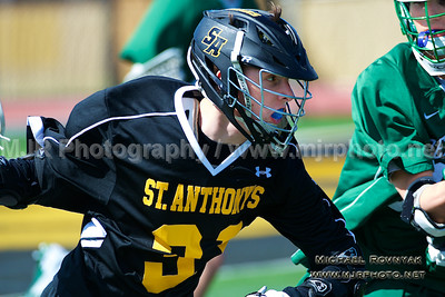 Lacrosse, Boys JV, 2015-04-11 #31 St Anthonys Vs Delbarton