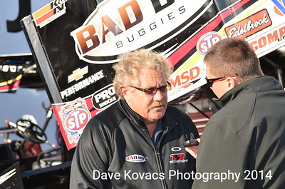 Williams Grove Speedway - National Open - 10-4-14