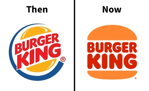 Corporate Logos Then & Now