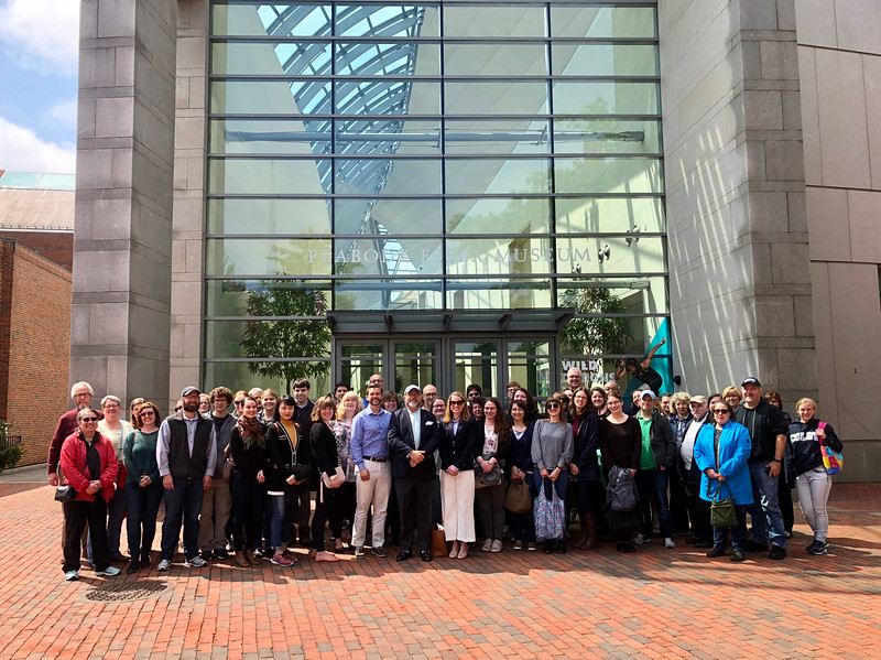 13.	Staff group photo at Peabody Essex Museum
