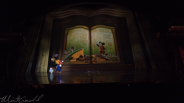 Disneyland Resort, Hong Kong Disneyland, Fantasyland, Mickey Mouse, Mickey, Mickey and the Wondrous Book, Wondrous, Book, Theater, Theatre