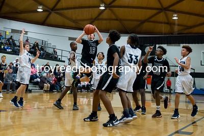 YMS Boys and Girls Basketball vs Clover