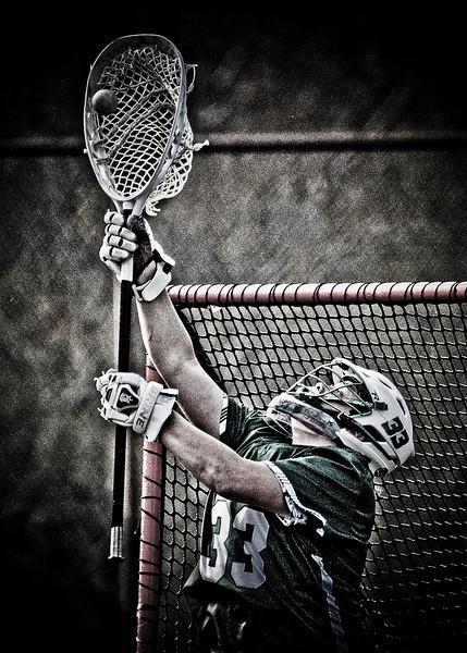 Matt Horton Emmaus Men's Lacrosse Goalie #33, 2014
