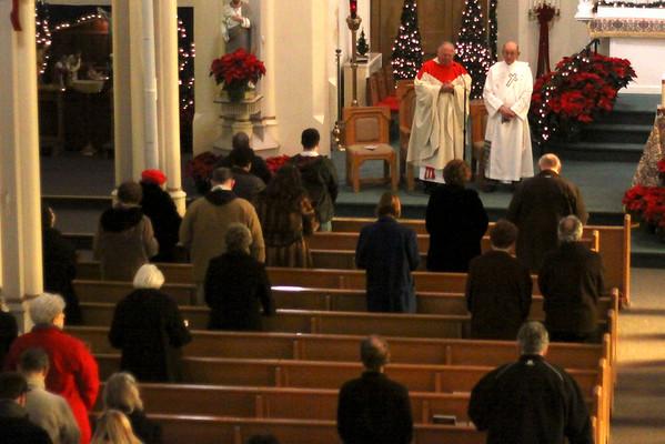 Sunday mass at St. Joseph's Church in Pittsfield 1514
