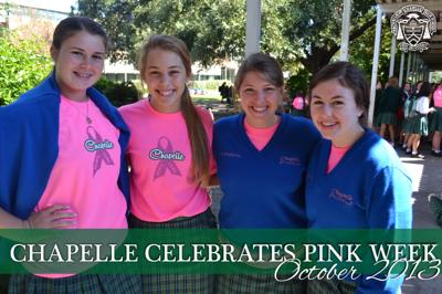 Chapelle Celebrates Pink Week