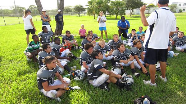 West Pines Wildcats v Davie Broncos 10 AUG 13