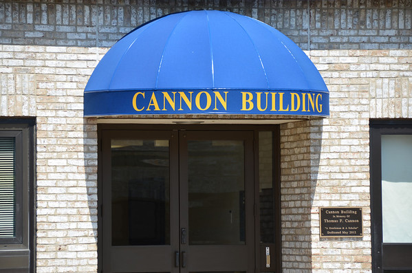 Dedication of the Cannon Building