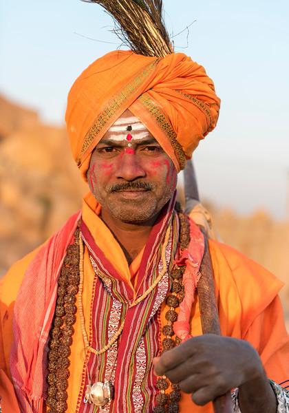 Portrait of Sadhu, India