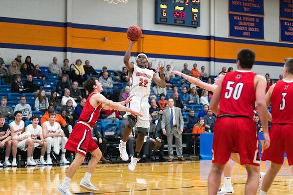 Wheaton College Men's Basketball vs Ripon College, November 10, 2018