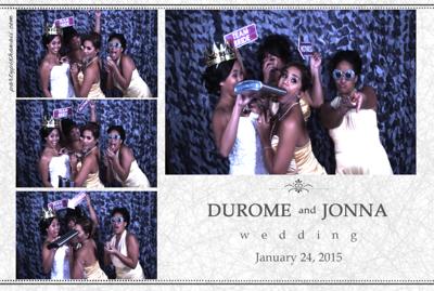 Jonna & DuRome Wedding (Slow Motion Photo Booth)
