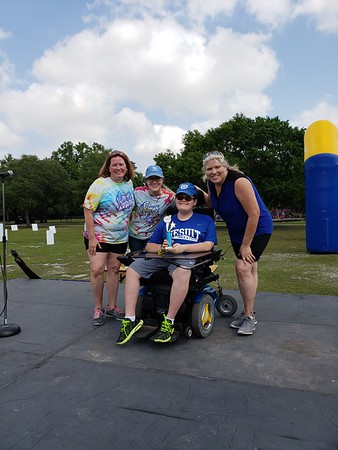 2018 04.21 MDA Walk Jesuit Tigers Team