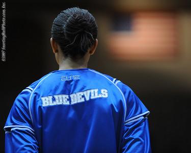 12/6/07 - NCAA Women: Duke Blue Devils vs Rutgers