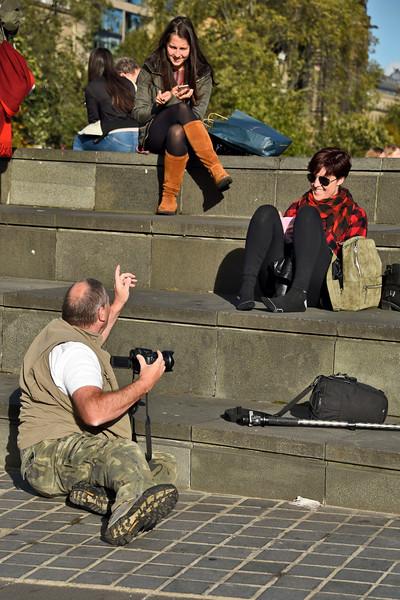Edinburgh Tourists caught on camera..JPG