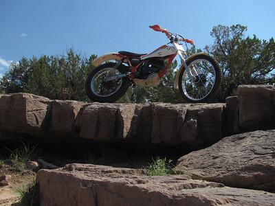 San Ysidro Trials Area - Trials Practice  7-15-12
