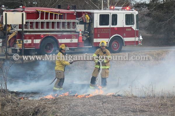 3/24/18 - Mason grass fire, Lyon Rd & College Rd