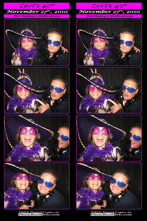 11/27/2010 Lori's 40th (PhotoStrips)
