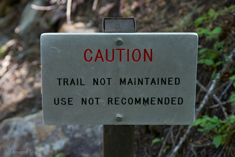Tahoma Creek Trail; no longer maintained.