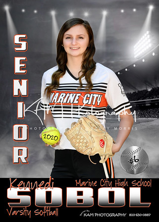 2020 Marine City High School Softball