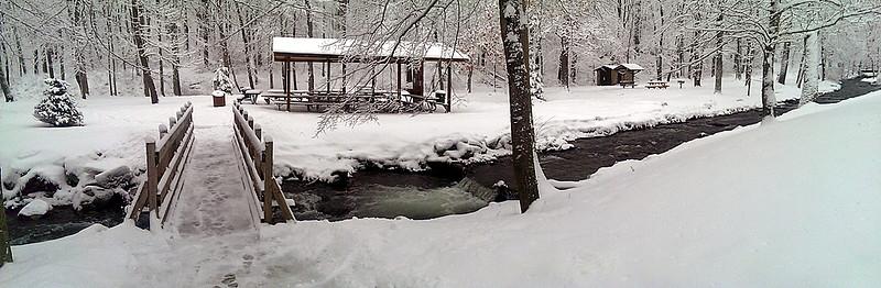 Tom's Run Panorama - Pine Ridge Park - Blairsville, PA