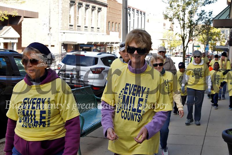 2019 St. Vincent de Pauls Friends of the Poor walk down Main St. in Butler. Seb Foltz/Butler Eagle