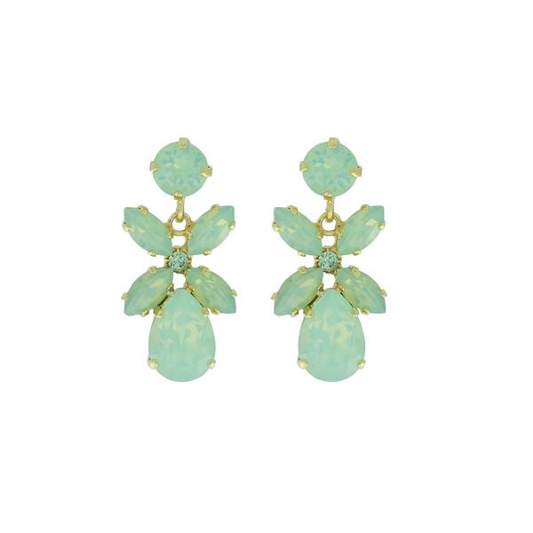Mini Dione Earrings / Pacific Opal