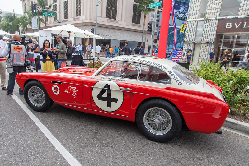 1953 Ferrari 340 Mexico - 0222 AT, 4 Carrera Panamericana