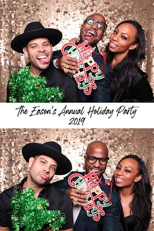 Eason's Annual Holiday Party (GIF Booth)
