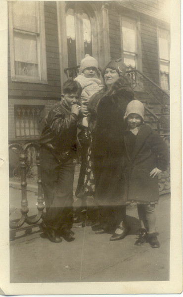 1928: Mary Henry Frost, George Frost, Billy Cuddy, Kate Brennan.