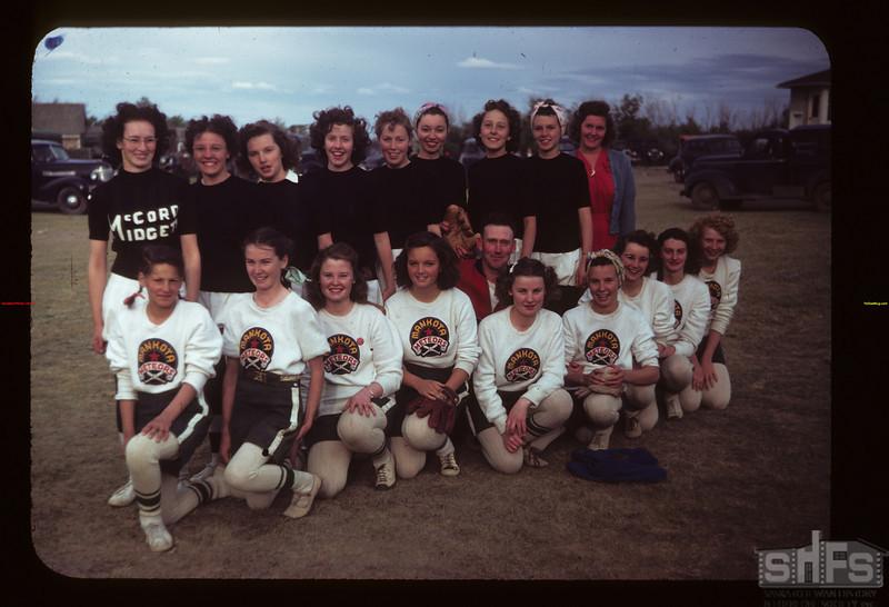 The McCord Midgets and Mankota Meteors - baseball teams Ferland 06/17/1949