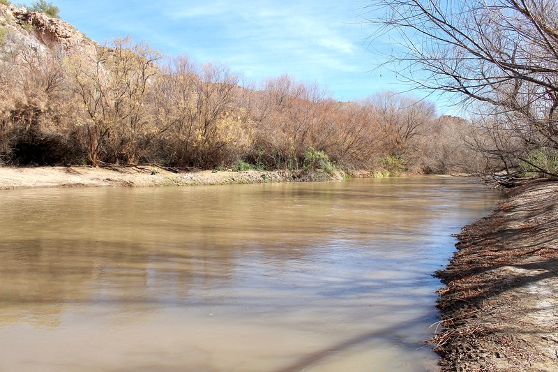 Along the Gila River at Cochran (2018)