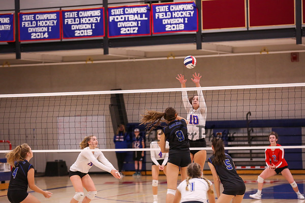 2019-10-11 WHS Girls Volleyball vs Hollis-Brookline
