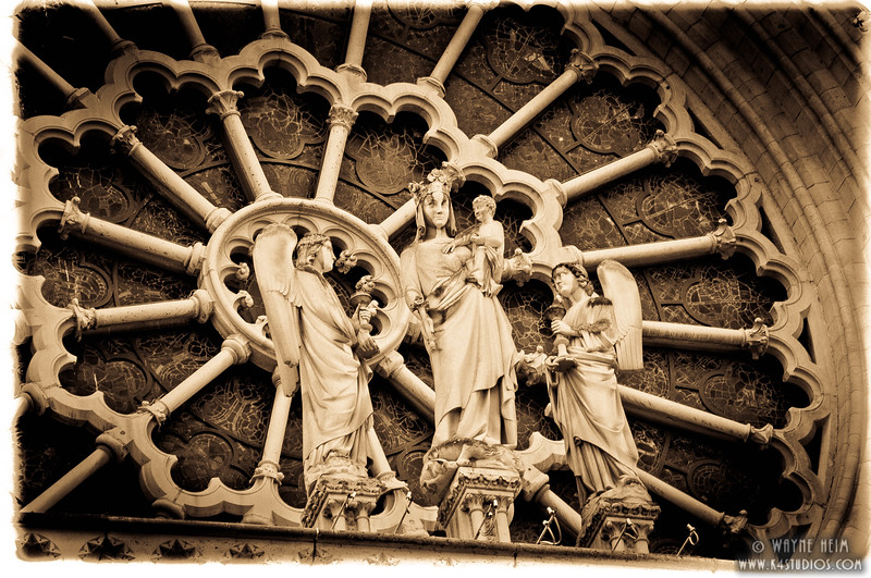 Statues of Notre Dame 3   Photography by Wayne Heim