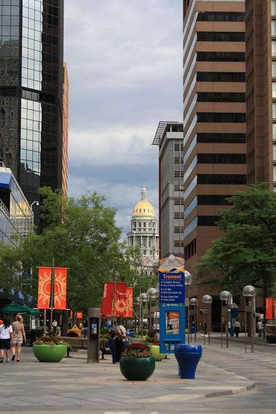 a pedestrian zone