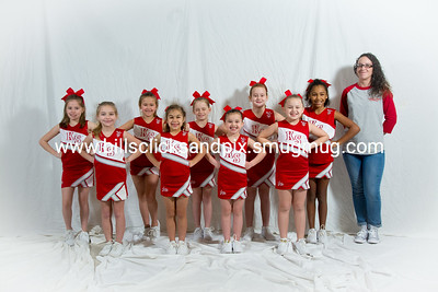 Kingston Springs Cardinals 6th Grade Cheer Team Pictures