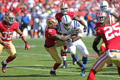Colts vs 49ers Sept 22, 2013
