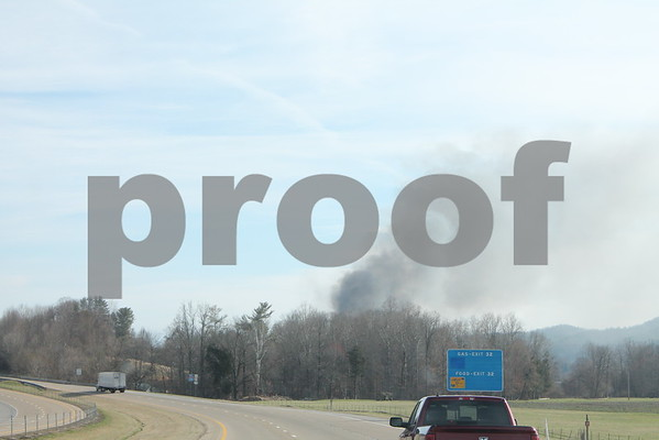Fire Destroys Home in Town of Unicoi - March 2015
