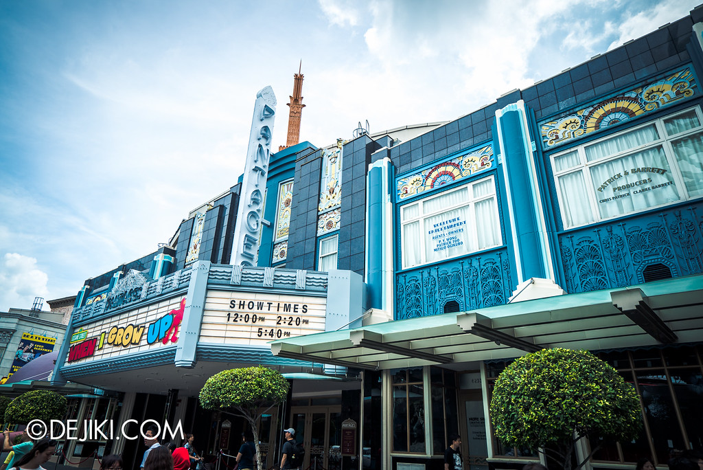 Universal Studios Singapore - Park Update May 2016 / Pantages Hollywood Theatre Refurbishment