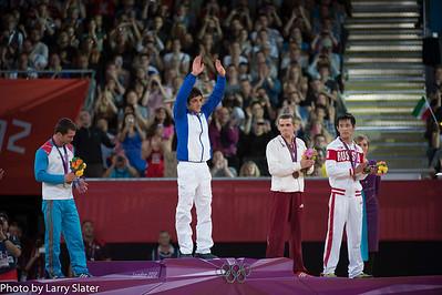 Mark Bader at Olympics