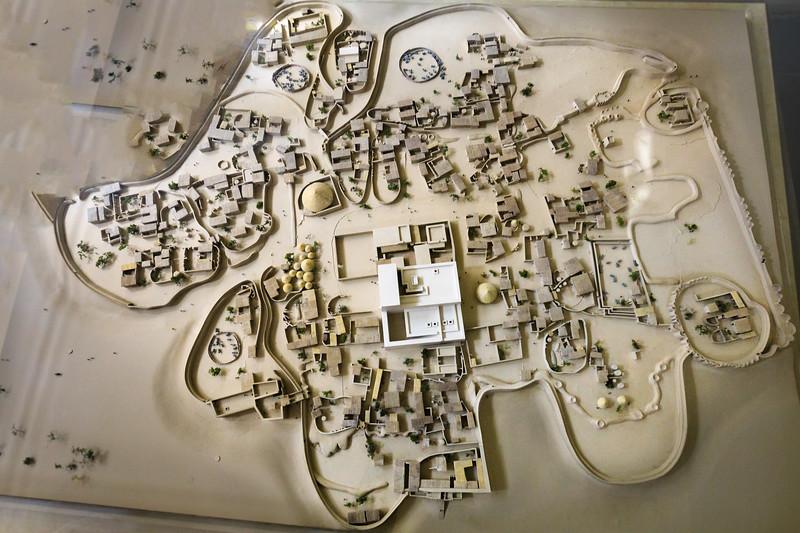 Modell der Stadt Kerma, 2500 bis 1500 v. Chr.